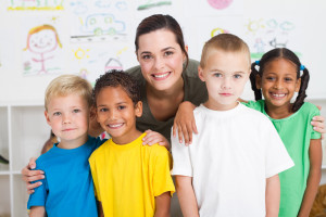 bigstock-group-of-preschool-kids-and-te-14764592